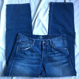 7 FAM sz 34 jeans A Pocket relaxed